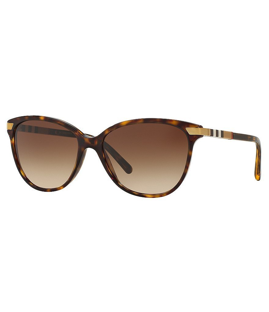 429dba6719a4 Burberry Heritage Color Block Square Check Cat Eye Sunglasses. Buy on  Dillard's