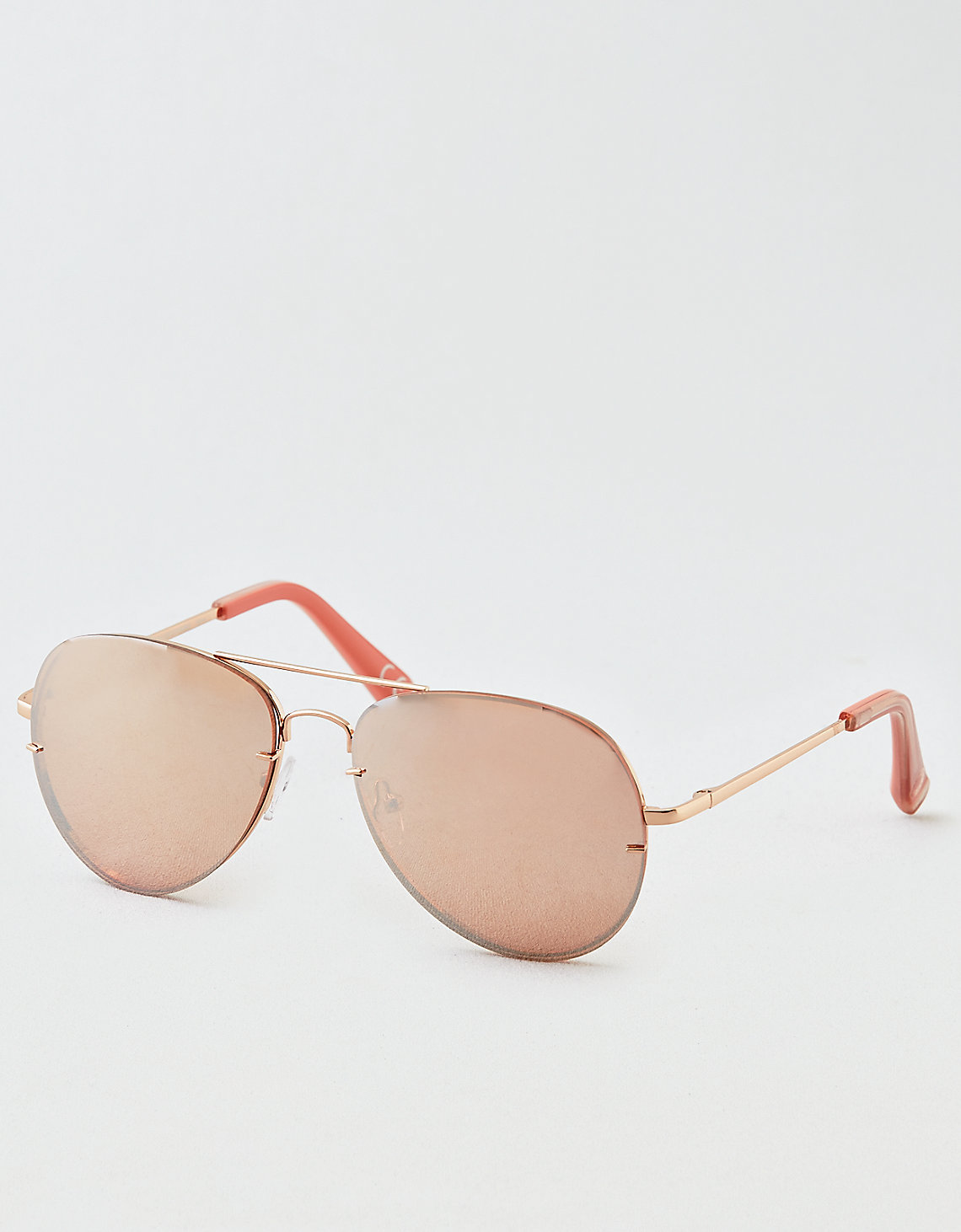 959247d0c1 AEO Frameless Aviator Sunglasses